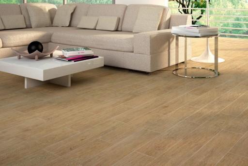 Wooden Look Porcelain Floor Tiles