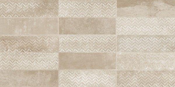 Vitrified Tiles - 12 X 24 Tile - Cherokke Brown Decor A
