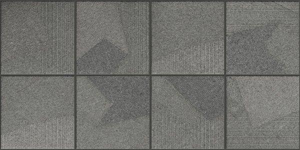 Vitrified Tiles - 12 X 24 Tile - Axxitude Nero Decor