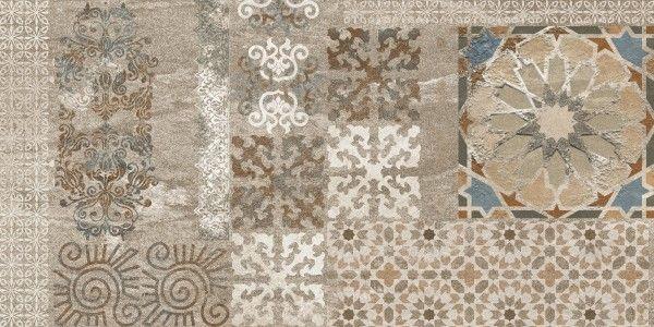 Vitrified Tiles - 12 X 24 Tile - Thique Moka Decor A Copy