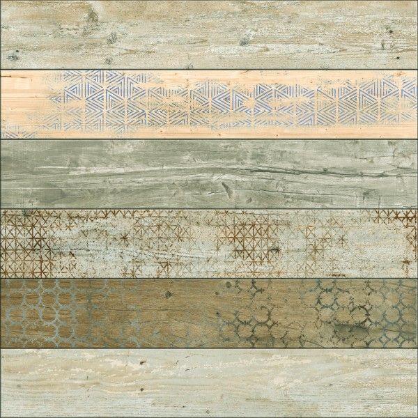 Seramik Yer Karosu - 24 x 24 seramiği - Decora Şerit 6