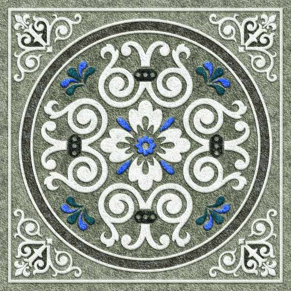 Seramik Yer Karosu - 24 x 24 seramiği - 1149
