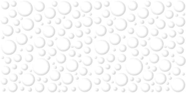 - 300 x 600 mm ( 12 x 24 inch ) - 50-Bubble-White