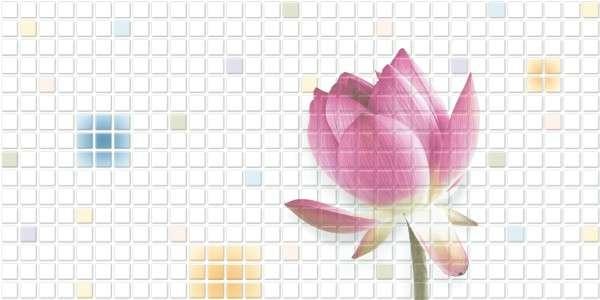 - 300 x 600 mm (12 x 24 pollici) - Lotus-604-A