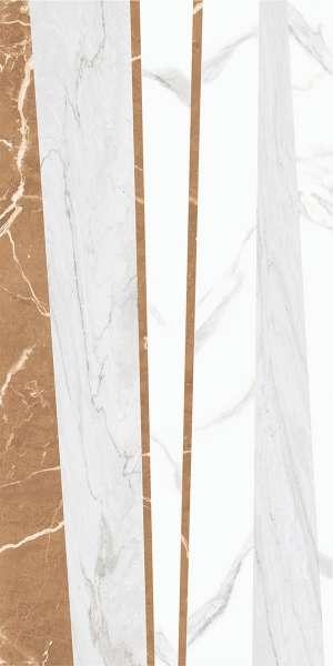 - 600 x 1200 mm ( 24 x 48 inch ) - brillo-white-decor