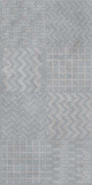 - 600 x 1200 mm ( 24 x 48 inch ) - delmon-grey-decor