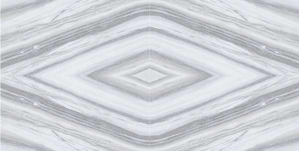 - 600 x 1200 mm ( 24 x 48 inch ) - SPARKEL WHITE