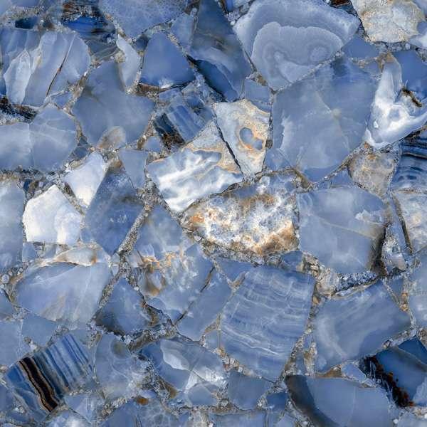 - 600 x 600 mm ( 24 x 24 inch ) - DIAMOND BLUE